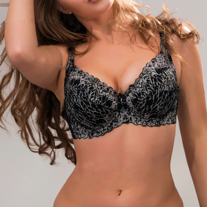 High quality girl women hot sexy plus size pushup bra 60199