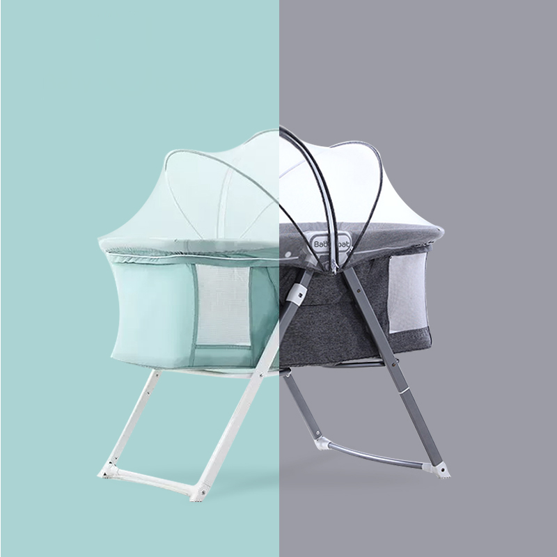 Foldable Crib Modern Portable Baby Crib for Baby