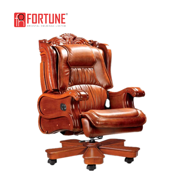 High end massage function luxury president office chair (FOH-A02)