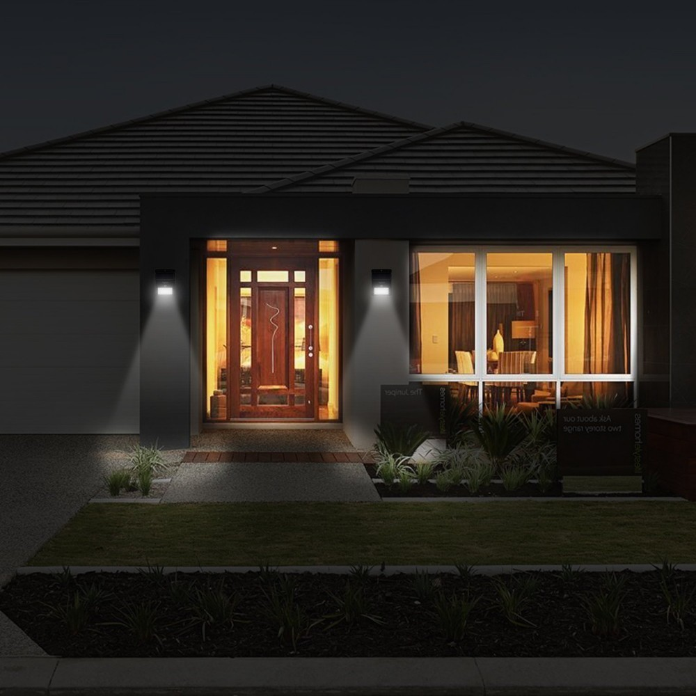 High Lumen Outdoor Solar Light With Motion Sensor Wall Light
