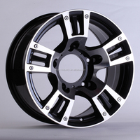 Chinese manufacturer offroad pcd 139.7 car wheel alloy rims for sale