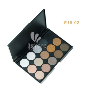 product private label 15 color smoky alibaba eye shadow makeup make up