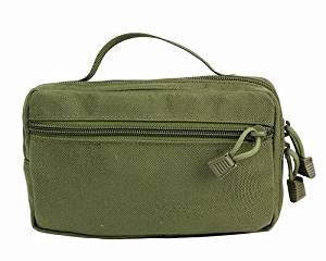 Tactical 1000D Molle Accessory Sundries Bag Utility Durable Mag Bullet Pouch EDC Portable Tools Accessory Waist Bag for Wargame, Airsoft, Outdoor Multi-purpose