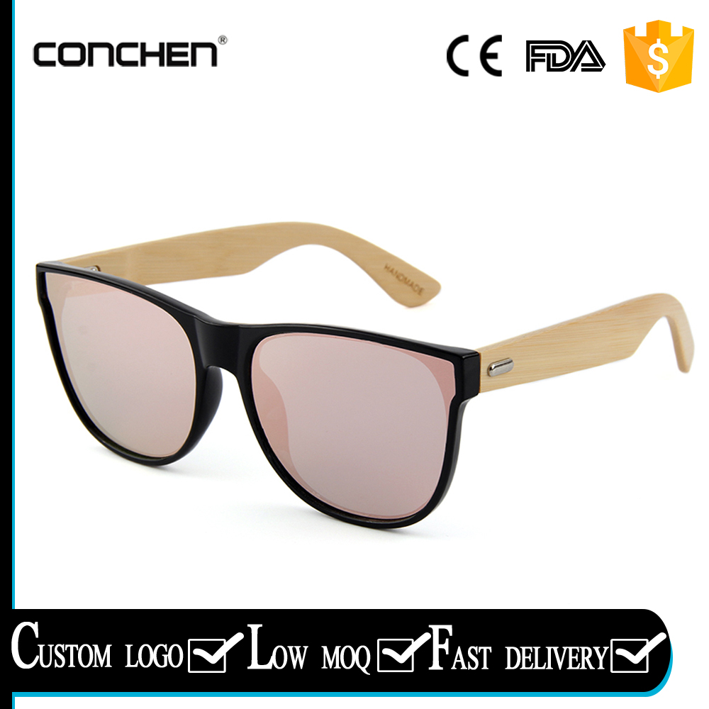 newest 2017 fashion bamboo sunnies sunglasses for women