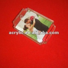 2012 latest design fantastic mini acrylic picture frame