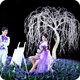 Wedding decoration led weeping willow tree lighting faux trees