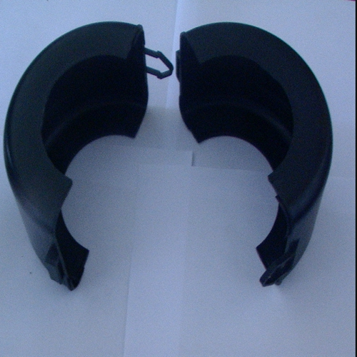 flange spray guard (Polypropylene) shields safety cover