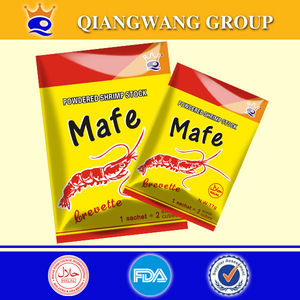 17g/sachet halal shrimp flavor broth powder stock powder