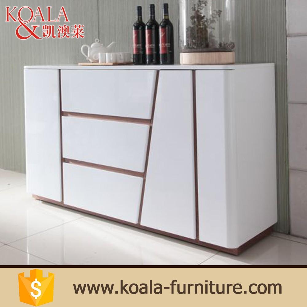 mdf glossy kitchen cabinet