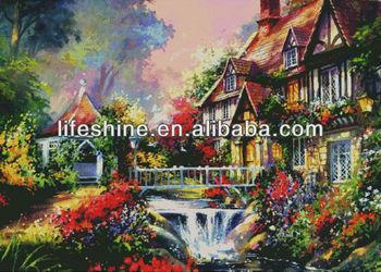 Fantasy Beautiful Place Of Cross Stitch Embroidery Cross Stitch Kit Buy Cross Stitch