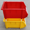 Cheap colored stackable plastic shelf bins for sale