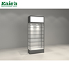 jewelry store decoration jewelry display stand custom LED Light Wood Glass Jewelry Display Cabinet For Shop Or Mall