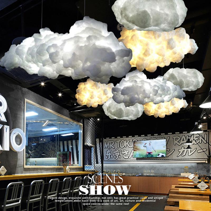 Fantastisch 2018 Innovative Moderne Design Restaurant Hängen Kronleuchter LED Wolke  Deckenleuchten