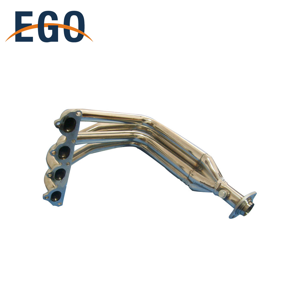 STAINLESS STEEL 4-1 TYPE-R STYLE DRAG HEADER FOR 99-00 HONDA CIVIC B16A3