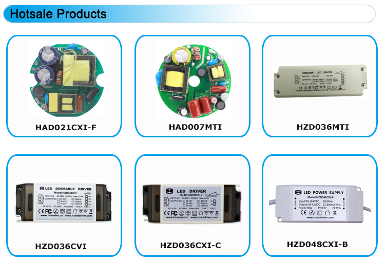 Flicker free isolated class II 40w constant current led driver 1000ma