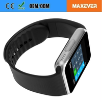 The Durable Bluetooth Smart Watch Mobile Phone GT08 China Watch Phone With MTK6261 CPU