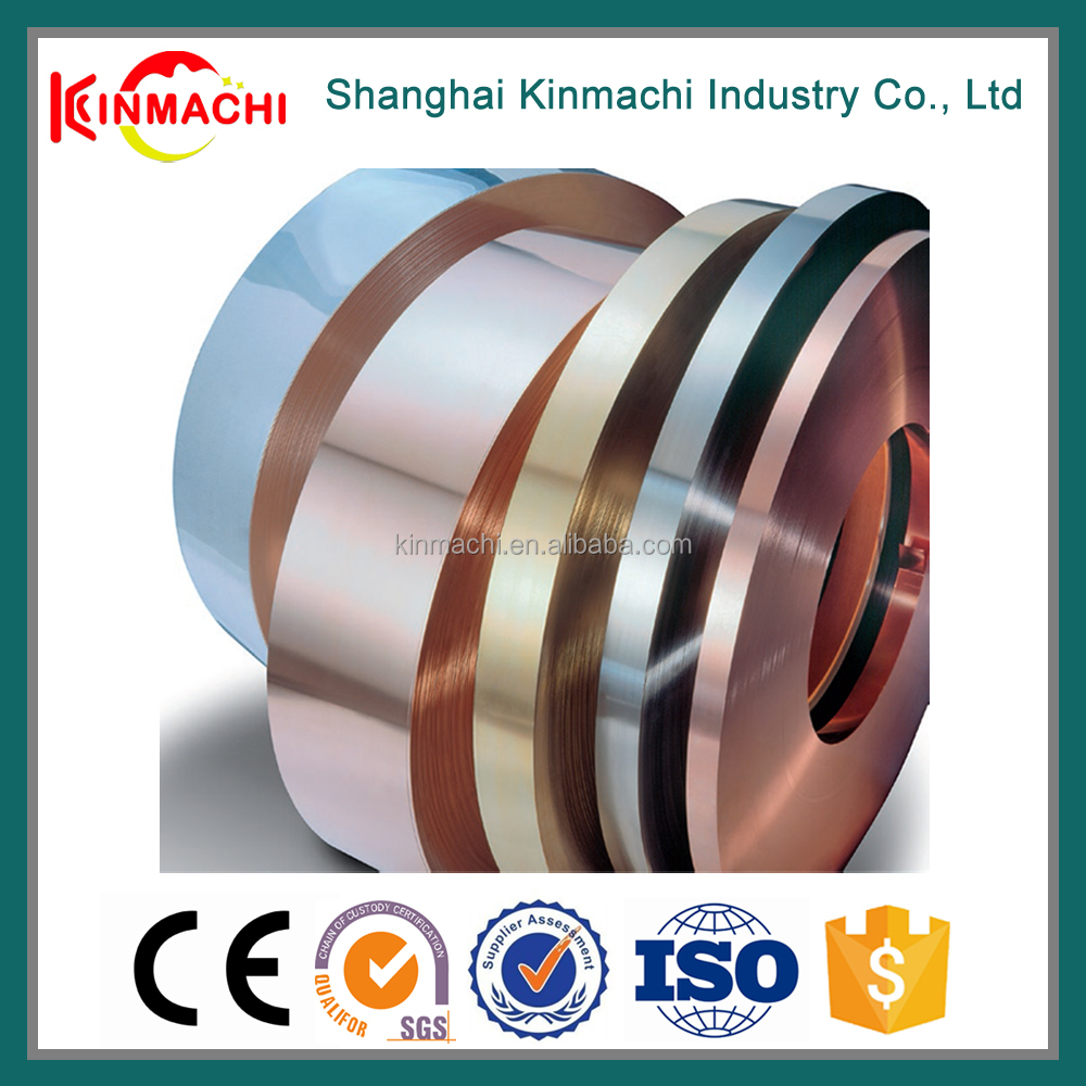 Color Brilliancy Superb Fatigue and Wear Resistance C17410 Beryllium Copper Round Strip In China
