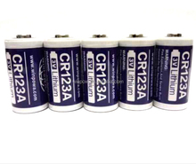 Primaria <span class=keywords><strong>Li</strong></span> <span class=keywords><strong>Mno2</strong></span> CR123A 3.0 V 1600 mAh batterie elettrico