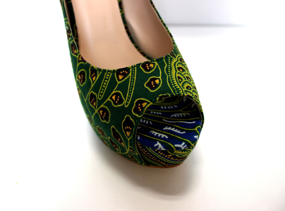 Print Print Shoes African Shoes Design Shoes African New Wax African nHUpqATw