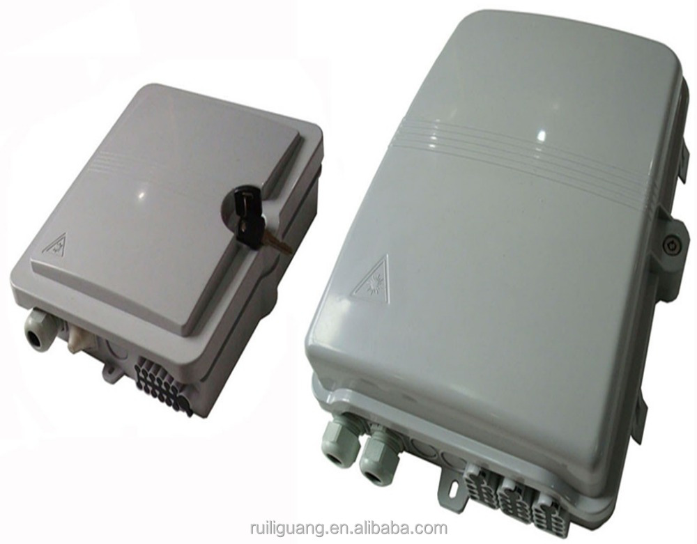 High quality Outdoor FTTH Fiber Optical Splitter Distribution Box with PLC splitter