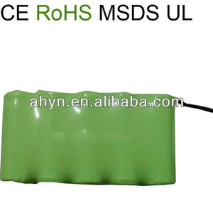 D 6V 7000mah NiMH Batteries Pack
