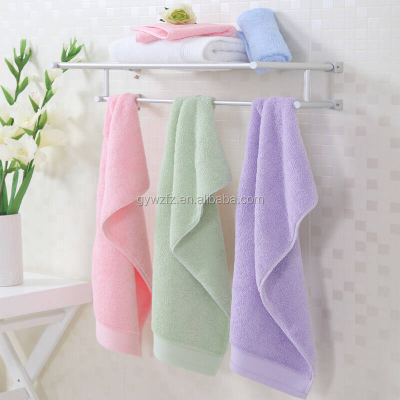 China home products wholesale 100% organic cotton hemp towel