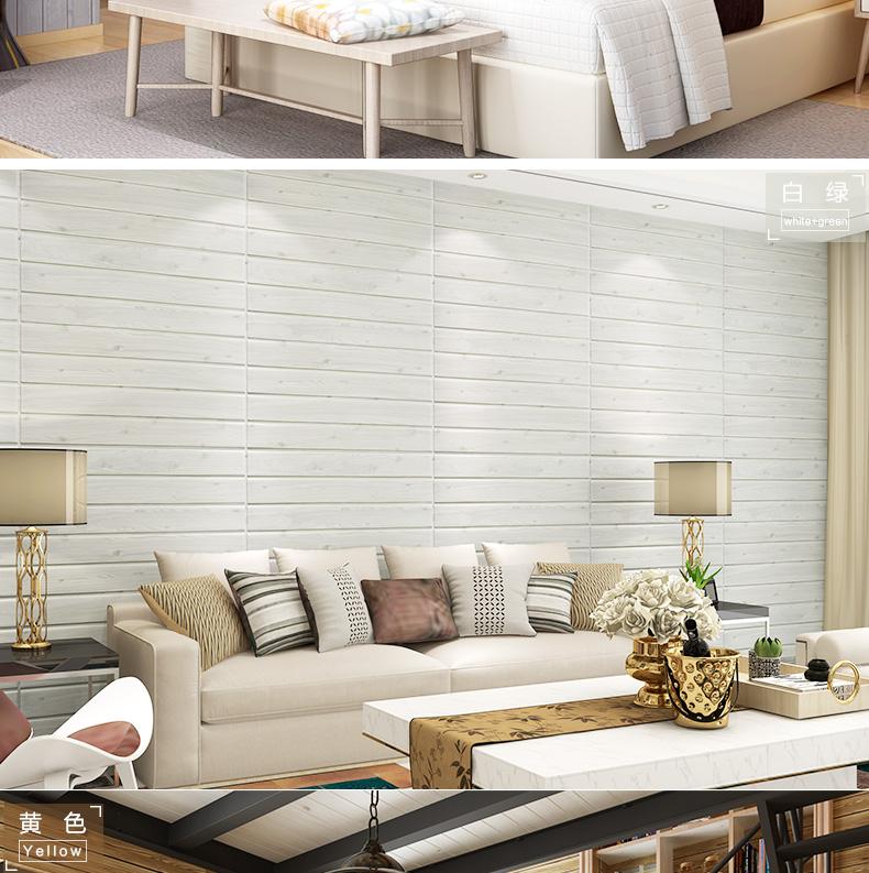 de dcor 3d color blanc salle de bains stickers muraux 3d brique papier peint