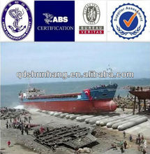 ABS certificate inflatable lower cost ship salvage and lifting rubber tube