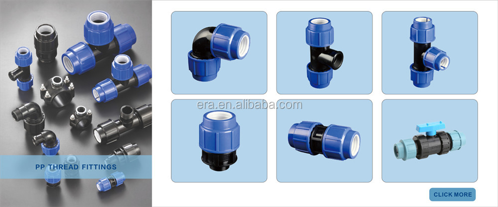 ERA  Water mark Certificate  Type II PP/HDPE Compression Fittings Valves