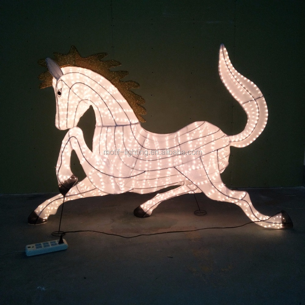 big zodiac animal horse rope light xmas new year party outdoor decoration ce rohs buy outdoor christmas lighted dragon decorationschinese new year - Christmas Lighted Horse Carriage Outdoor Decoration