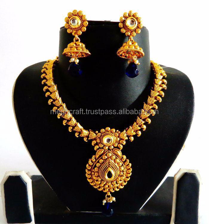 Wholesale Indian Ethnic Bridal Jewellery imitation Jewellery one