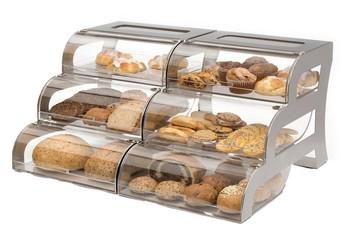 Clear Acrylic Bread Display Rack