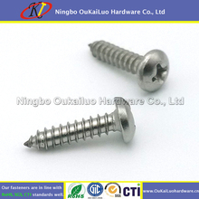 "8# x 3/4"" Philips Pan 18-8 Stainless Left Hand Sheet Metal Screws"