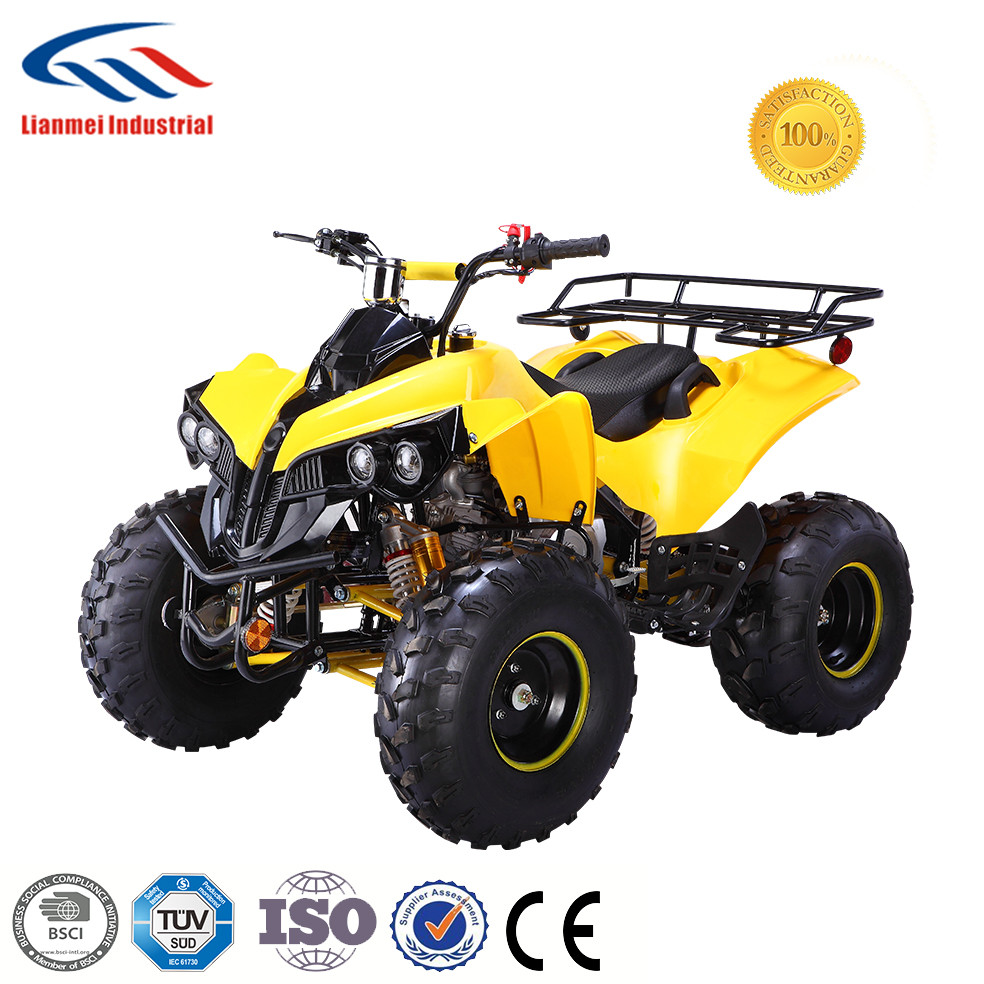 LIANMEI 110CC ATV WITH DUAL FRONT GAS-SHOCK