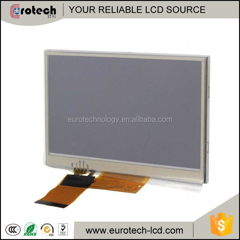4.3inch resistive touch panel LQ043T1DG28 with 480*272 RGB INTERFACE