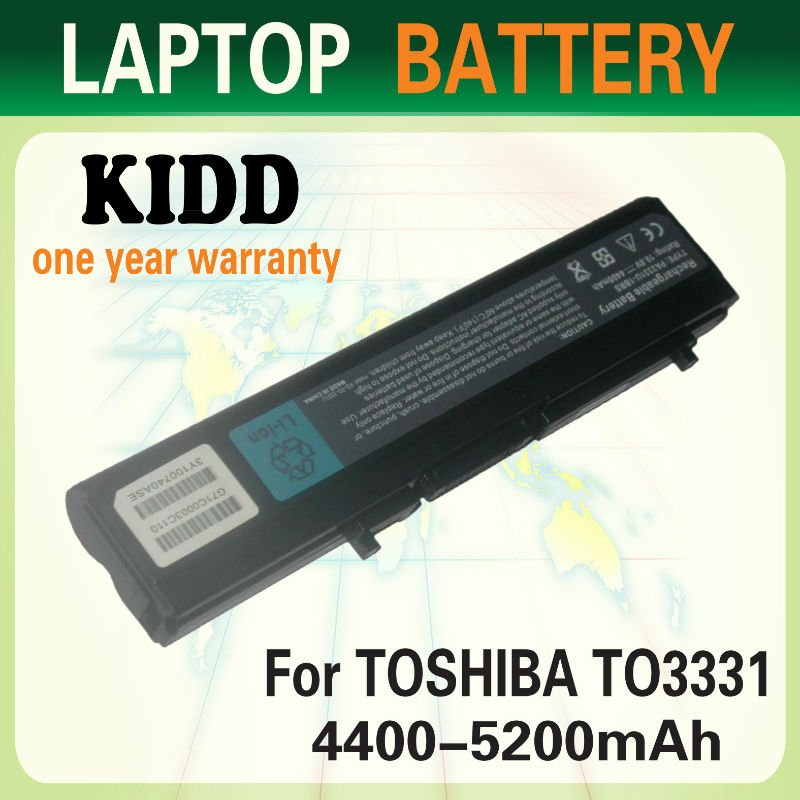 rechargeable laptop battery 3331 for toshiba PA3331U-1BAS PA3331U-1BRS battery