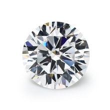 6mm bianco Moissanite diamante 1ct diamante