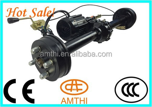 48v 850w Electric Tricycle Motor With Two Speed Rear Axle,2 Speed ...