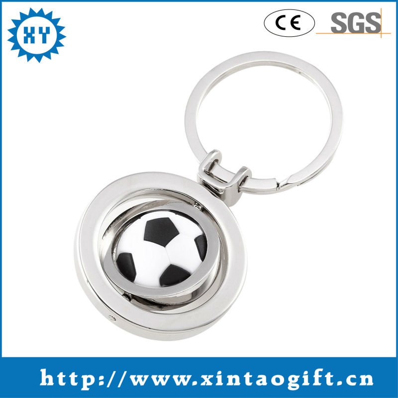 Custom Souvenir Sport Keyring Gift Key Holder for Advertising Gift