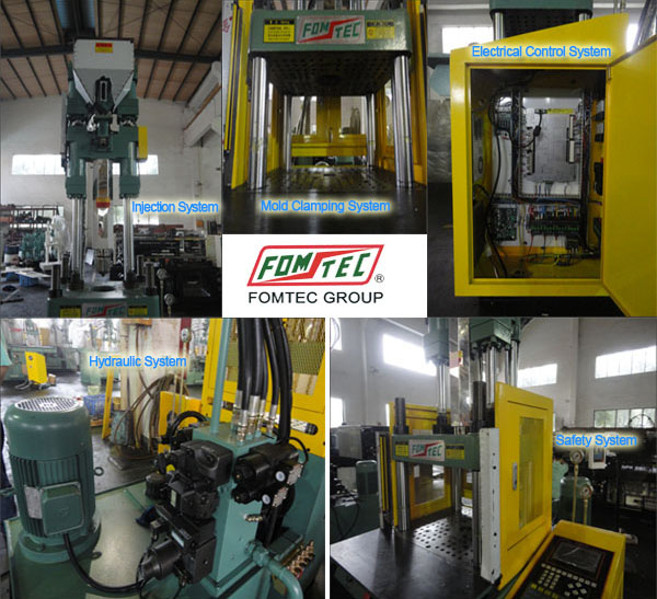 China suppliers toothbrush vertical injection molding machine