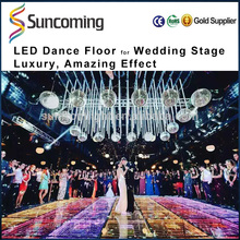 TTL DMX MADRIX interactive dance floor system for T stage