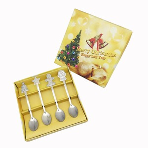 Stainless steel spoon Christmas corporate gift