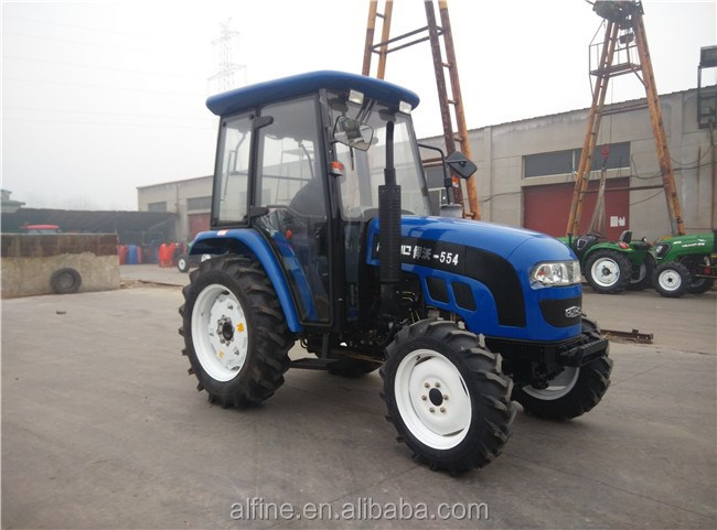 Factory supply good performance 55hp 4x4 sonalika tractor