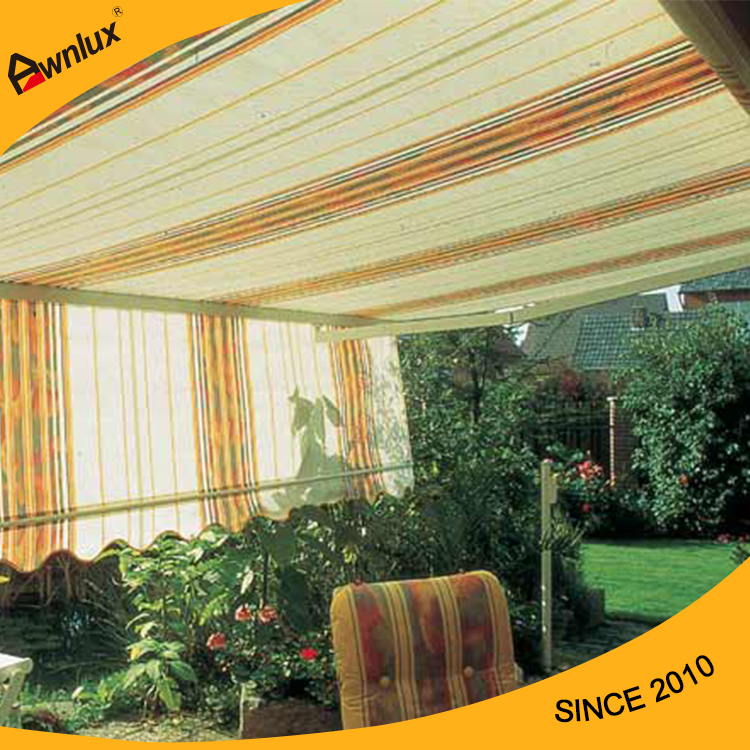 New cassette retractable gazebo canopy awning