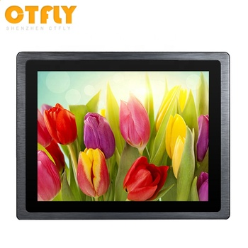Flat panel touch screen embedded 15 touch monitor