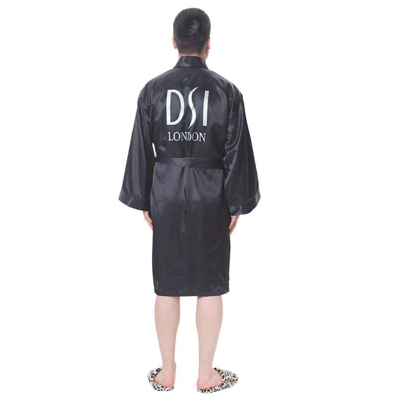 Satin Silk Kimono Custom Made Dressing Gown