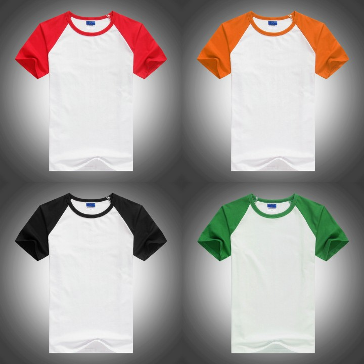 2016 new kids raglan sleeve t-shirt,plain children tshirt
