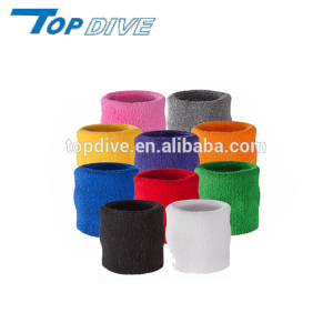 Cotton Terry Cloth Wristband for Sports