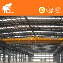 Construction Machinery 10Ton Electric Lifting Girder Crab Bucket Bridge Crane Price For Lifting Metal Piece