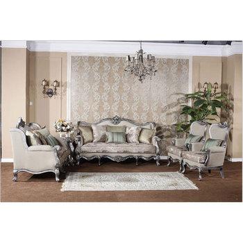 Luxury Classic Furniture Wood Sofa Fabric Sofas Buy